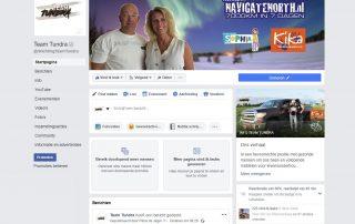 Facebook donatieknop | Team Tundra | Facebook pagina