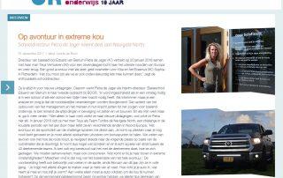 Artikel BOORiMagazine | Op avontuur in extreme kou