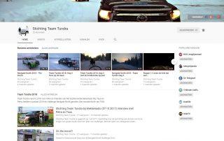 YouTube kanaal Team Tundra | Promotie