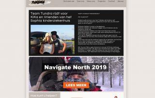 Vernieuwde website | Stichting Team Tundra