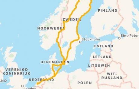 Route Navigate North 2018 | Stichting Team Tundra | Nieuw Lekkerland