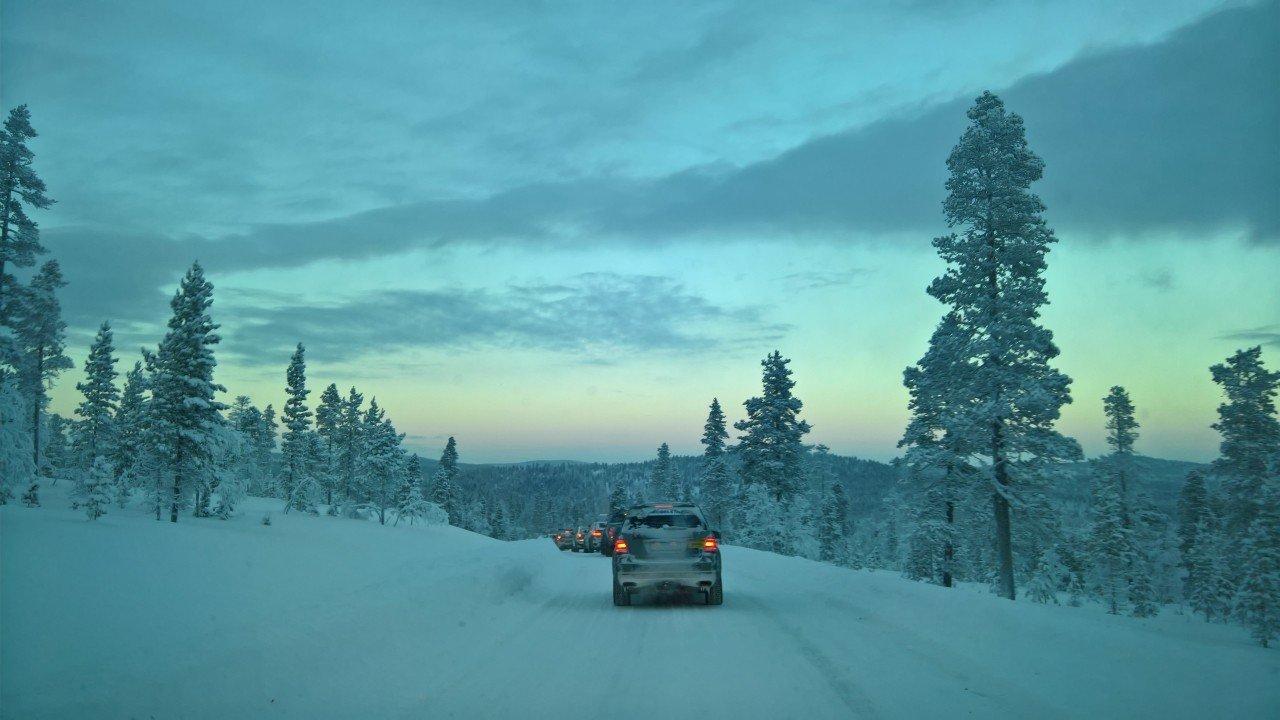In de sneeuw in colonne | Team Tundra | Liefdadigheidsinstelling | Nieuw Lekkerland