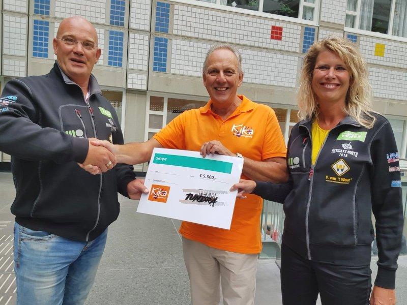 Team Tundra - Donatie KiKa 2018