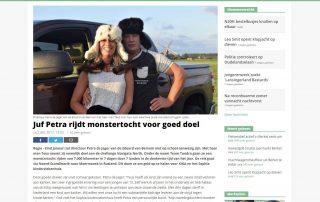 Artikel Hart van Holland | Juf Petra | 2017