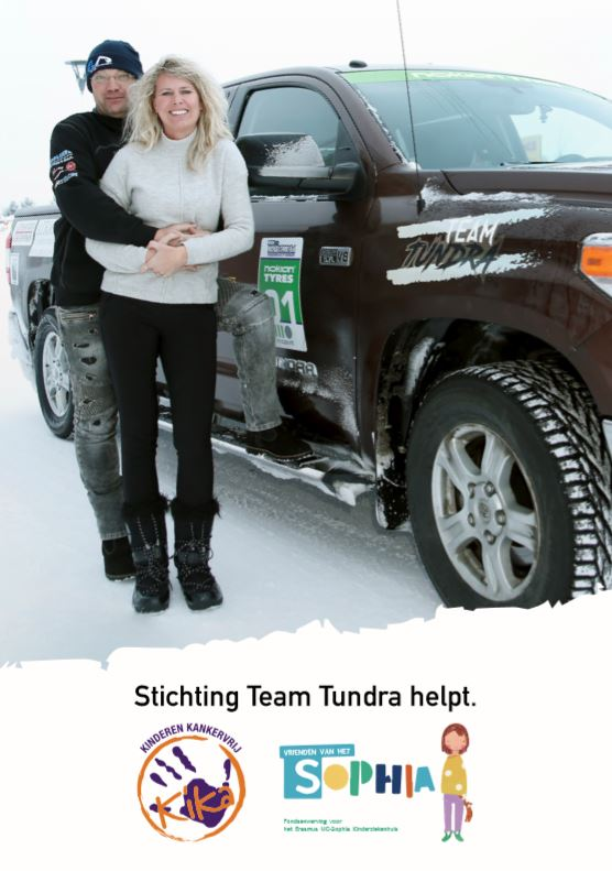 Flyer Stichting Team Tundra - Navigate North