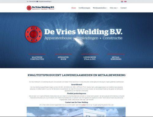 Sponsor 2019 | De Vries Welding