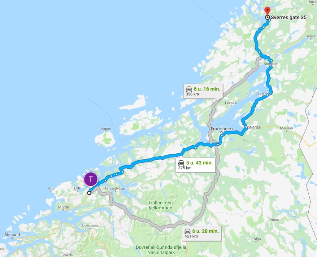 Etappe 1-3 | Navigate North