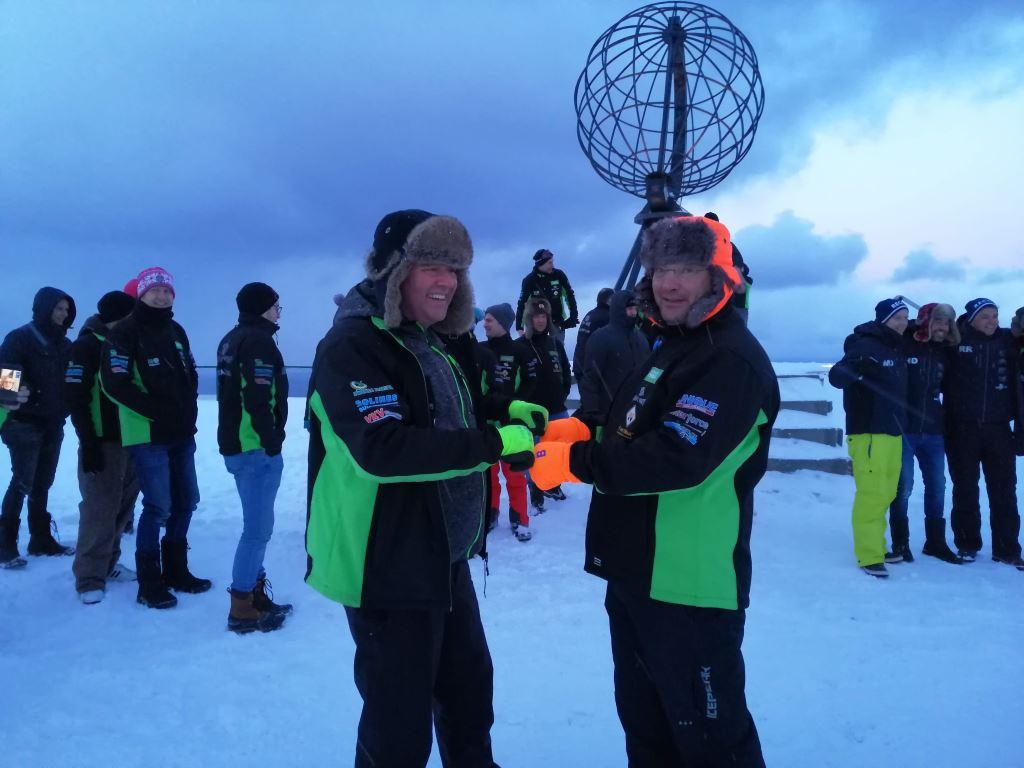 Teus op de Noordkaap | Navigate North 2019