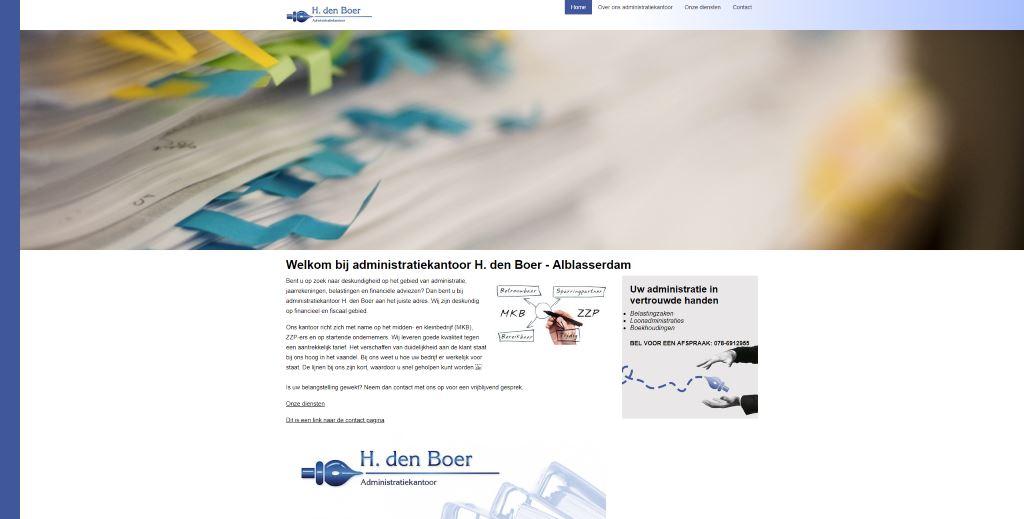 Donateur 2019 | Huib den Boer | Alblasserdam