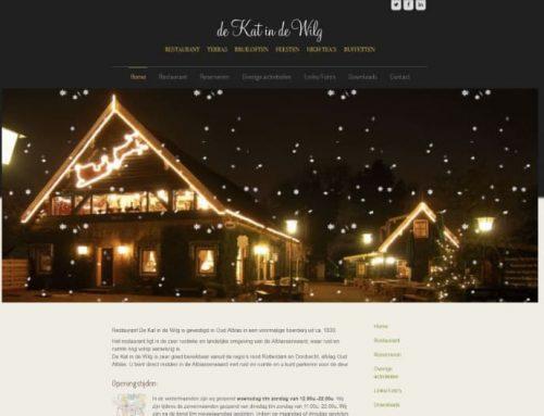 Sponsor 2019 | Restaurant De Kat in de Wilg