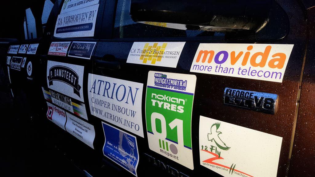 Team Tundra | Sponsor stickers | Auto