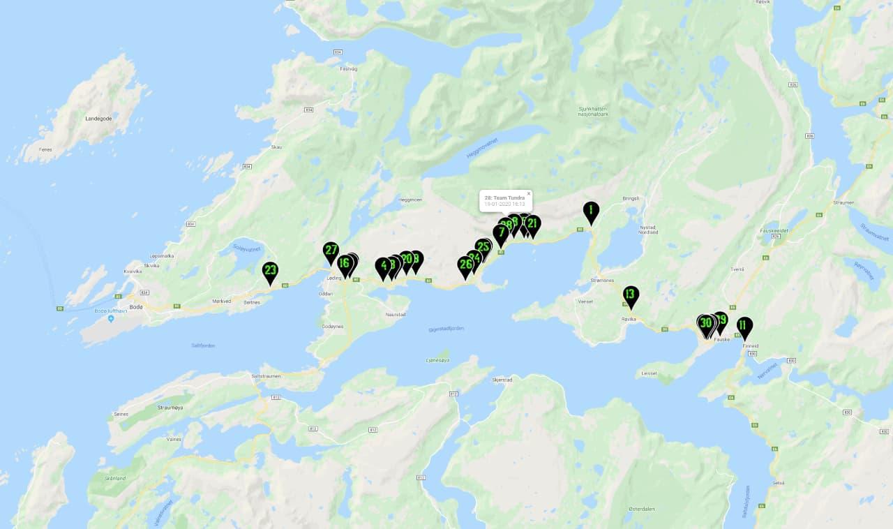 Naar het eindpunt dag 3 | Noorwegen | Navigate North 2020